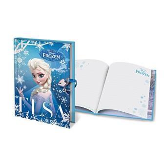 G/én/érique La Reine des Neiges Elsa /& Anna Coffret Cadeau Journal Intime Couverture 3D Neuf