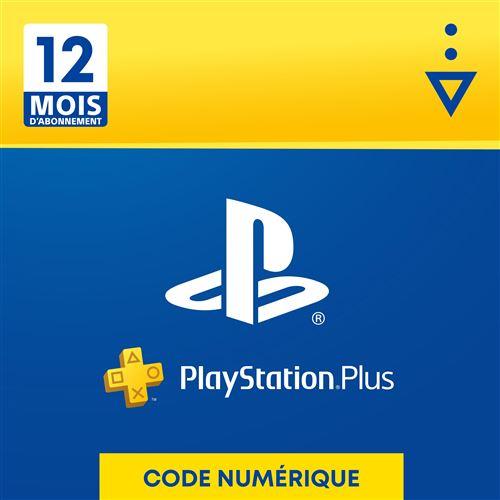 Code de téléchargement Sony PlayStation Plus: 12 Mois d'abonnement