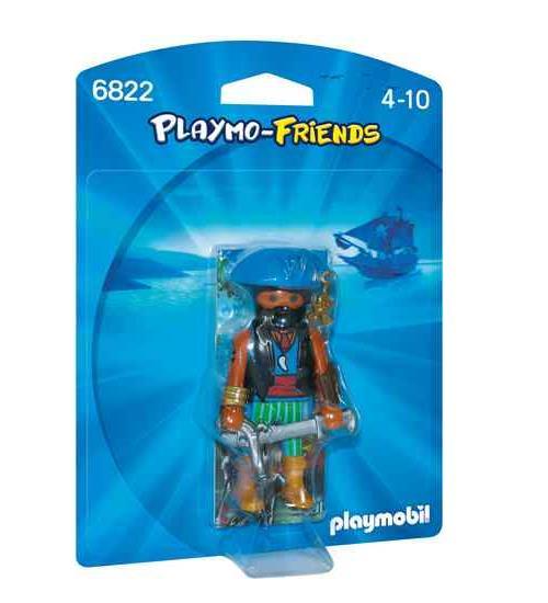 PLAYMO-FRIENDS : Les nouvelles figurines à collectionner ! Flibustier avec épée et pistolet.