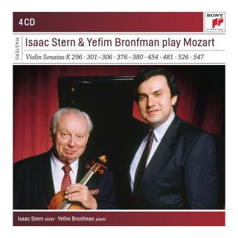 Isaac Stern & Yefim Bronfman play Mozart Coffret