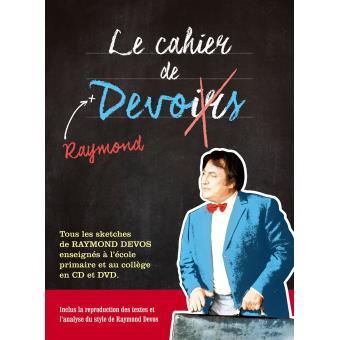 Le Cahier de Raymond Devos Inclus DVD et livre disque format DVD bonus