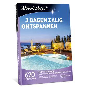 WONDERBOX 3 DAGEN ZALIG ONTSPANNEN