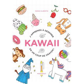 J'apprends à dessiner Kawai en un coup de crayon
