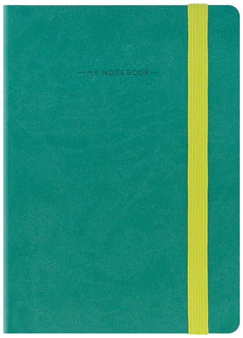 LEGAMI - SMALL NOTEBOOK LINED - VERT MINT