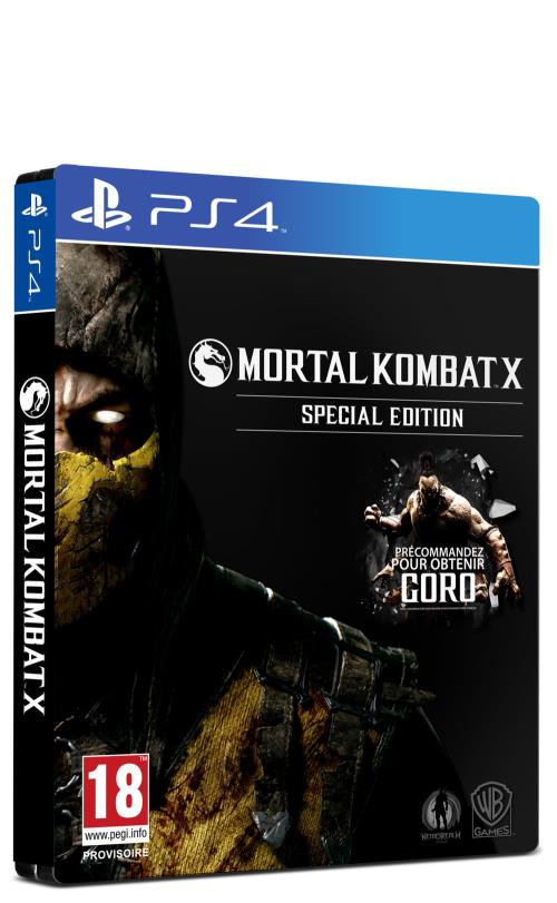 Mortal Kombat X Special Edition PS4 - PlayStation 4