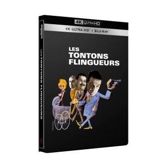 Les Tontons Flingueurs Steelboolk Edition limitée Blu-ray 4K Ultra HD