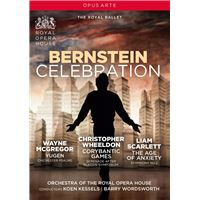 Bernstein Celebration : Yugen, The Age of Anxiety, Corybantic Games DVD