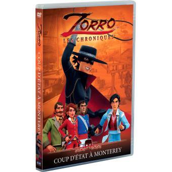 Zorro (Le dessin animé)Zorro Volume 5 Coup d'état à Monterey DVD