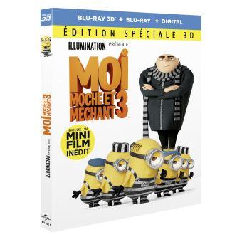 Moi, moche et méchantMoi, moche et méchant 3 Blu-ray 3D+2D