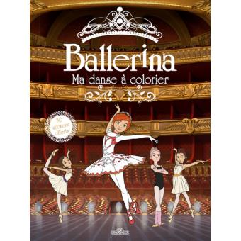 Coloriage Danseuse Ballet.Ballerina Ballerina Ma Danse A Colorier Collectif Gaumont