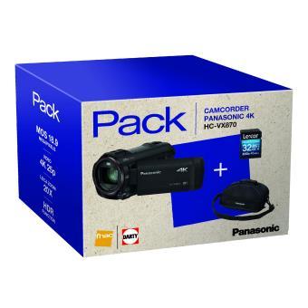 Panasonic HC-VX870 4K Camcorder + Draagtas + SDHC-Kaart 32GB