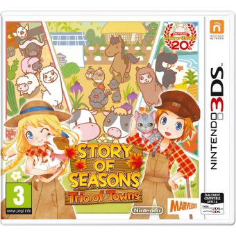 Story of Seasons Trio of Towns Nintendo 3DS