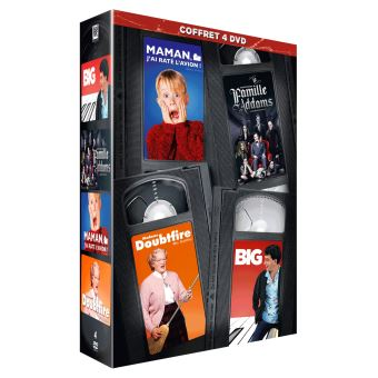 Maman j'ai raté l'avion Madame Doubtfire La Famille Addams Big DVD