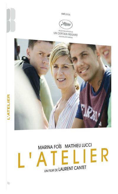 DVD du film L'atelier de Laurent Cantet