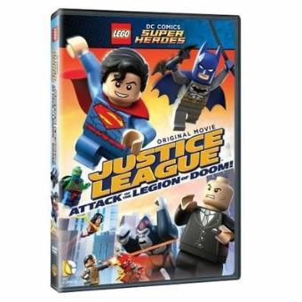 LEGOLEGO DC Comics Super Heroes La ligue des Justiciers et l'attaque de la Légion Maudite DVD
