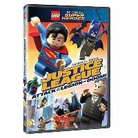 LEGO DC Comics Super Heroes La ligue des Justiciers et l'attaque de la Légion Maudite DVD
