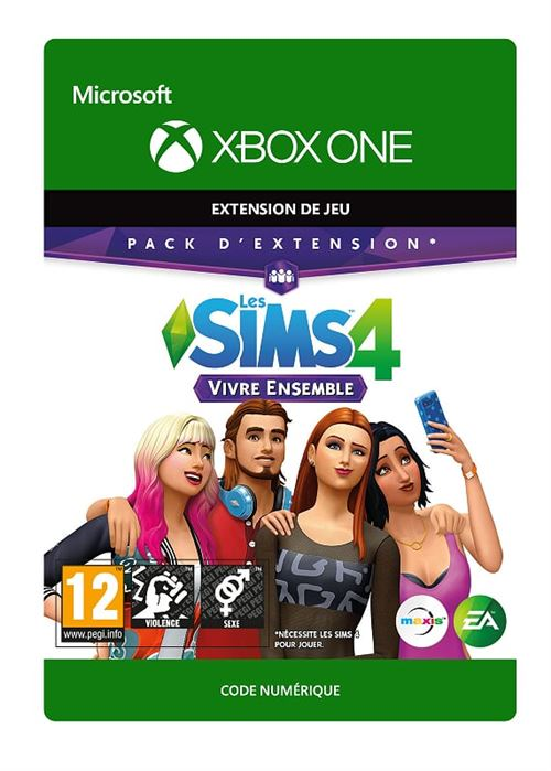 Code de téléchargement The Sims 4 Get Together Xbox One