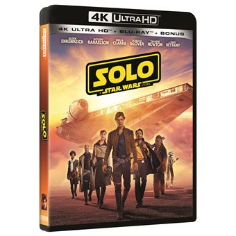 Star WarsSolo: A Star Wars Story Blu-ray 4K Ultra HD