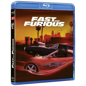 Fast And FuriousFast and Furious 1 Blu-ray