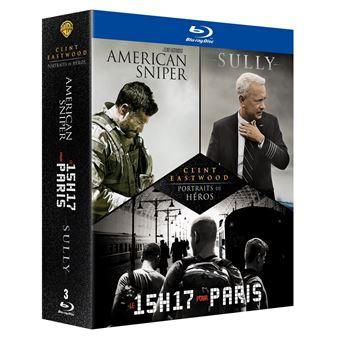 Coffret Eastwood Heroes Blu-ray