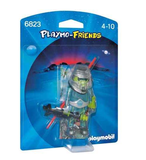 PLAYMO-FRIENDS : Les nouvelles figurines à collectionner ! Combattant avec combinaison de l´espace et armes.