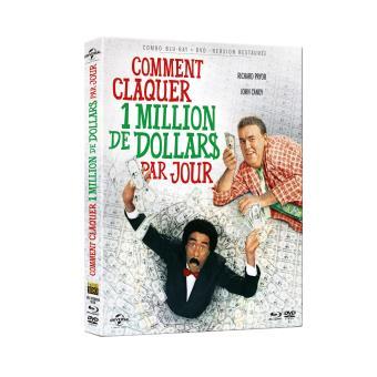 Comment claquer un million de dollars par jour Combo Blu-ray DVD