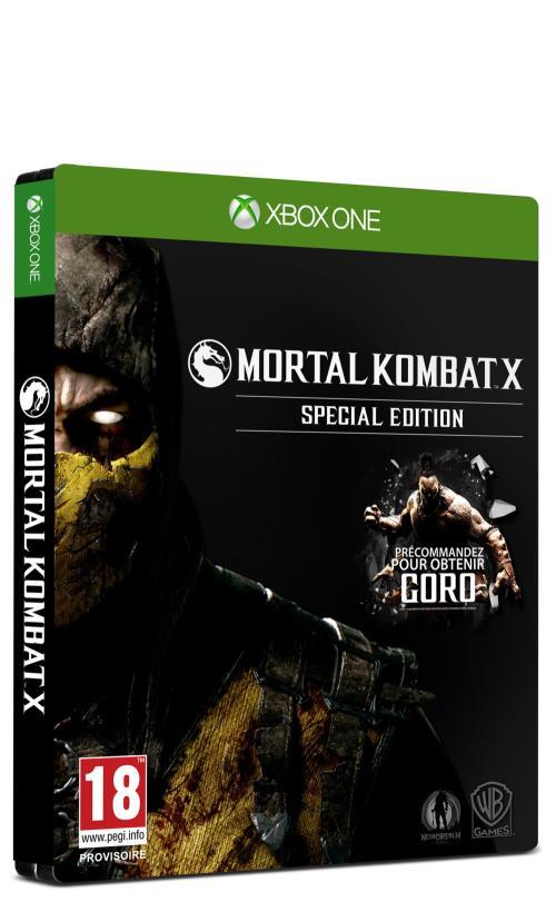 Mortal Kombat X Special Edition Xbox One - Xbox One