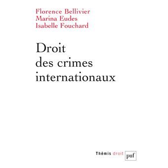 Droit des crimes internationaux