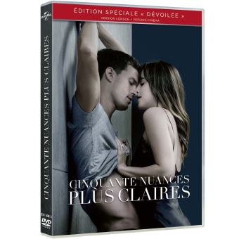 Fifty shadesCinquante nuances plus claires DVD