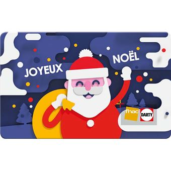 Carte Cadeau Fnac Joyeux Noel.E Carte Cadeau Fnac Pere Noel
