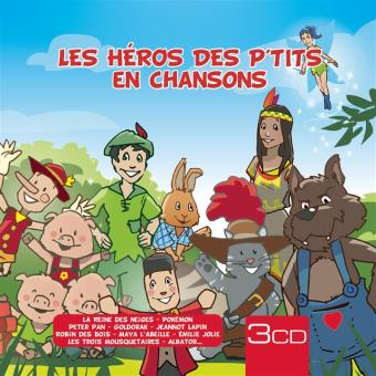 HEROS DES P TITS EN CHANSONS/3CD