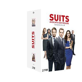 SuitsCoffret Suits Saisons 1 à 7 DVD