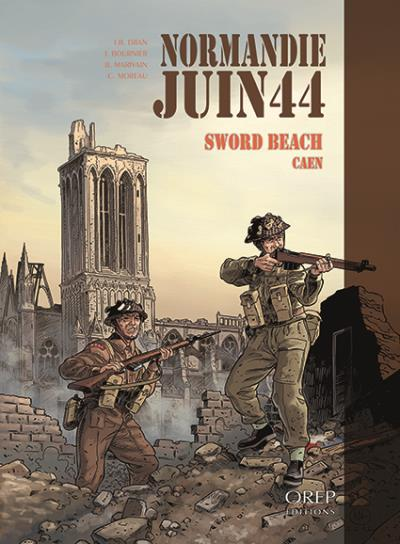 Sword beach, Caen