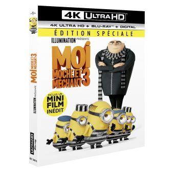 Moi, moche et méchantMoi, moche et méchant 3 Blu-ray 4K Ultra HD