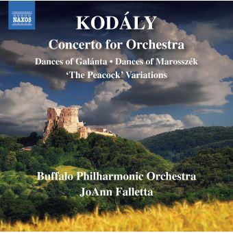 Danses de Galánta Concerto pour orchestre Variations