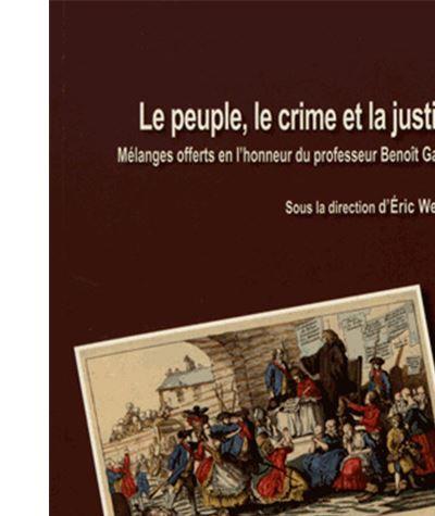 Le peuple le crime et la justice