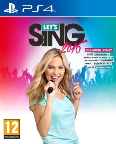 Let's Sing 2016 Version Internationale PS4