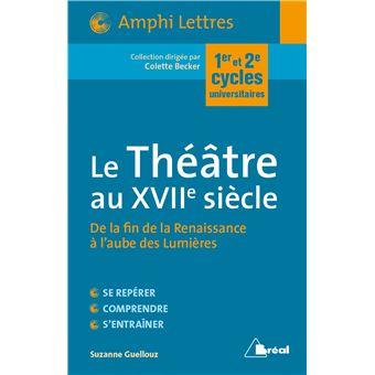 dissertation sur le theatre au 17eme siecle
