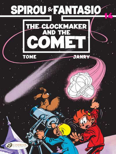 Spirou & Fantasio - volume 14 The Clockmaker and the Comet