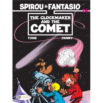Spirou et FantasioSpirou & Fantasio - volume 14 The Clockmaker and the Comet