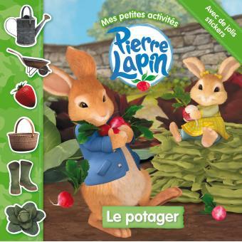 Pierre LapinPierre Lapin/ Mes petites activités - Le potager