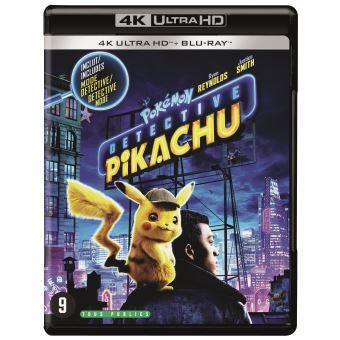 Les PokémonPokémon Détective Pikachu Blu-ray 4K Ultra HD