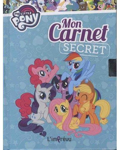 My Little Pony - Avec 1 joli cadenas : Mon carnet secret My Little Pony