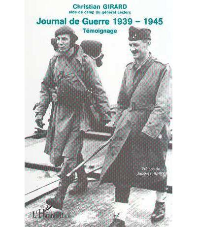 Journal de guerre 1939-1945
