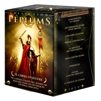 Peplum Coffret 9 DVD