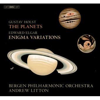 Holst les planètes Elgar Variations Enigma
