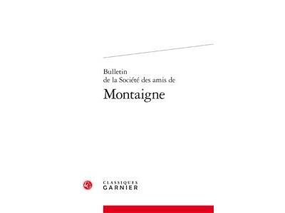 Bulletin de la Société des amis de Montaigne, Série I, 1921-1