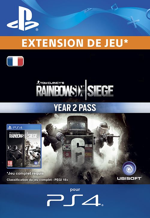 Tom Clancy's Rainbow Six Siege : Year 2 Pass PS4 code de téléchargement