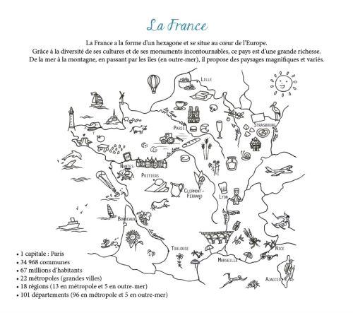 Ma Pochette France Cartes A Gratter Et A Colorier Boite Ou Accessoire Severine Laurent Achat Livre Fnac