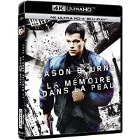 Bourne La Mémoire dans la peau Blu-ray 4K Ultra HD